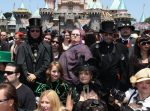 Goth Day in Disneyland