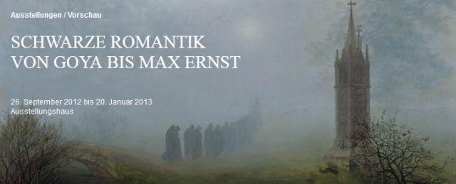 Schwarze Romantik von Goya bis Max Ernst