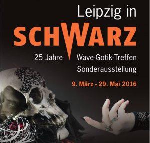 Leipzig in Schwarz - Flyer