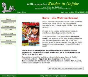 DVCK - Bravo - eine Welt von Unmoral - Screenshot