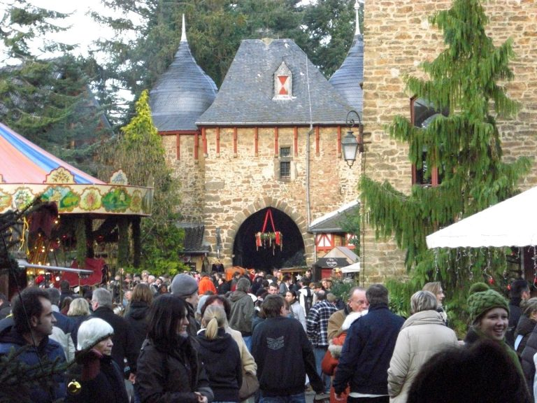 Ritterspiele auf Burg Satzvey 2008