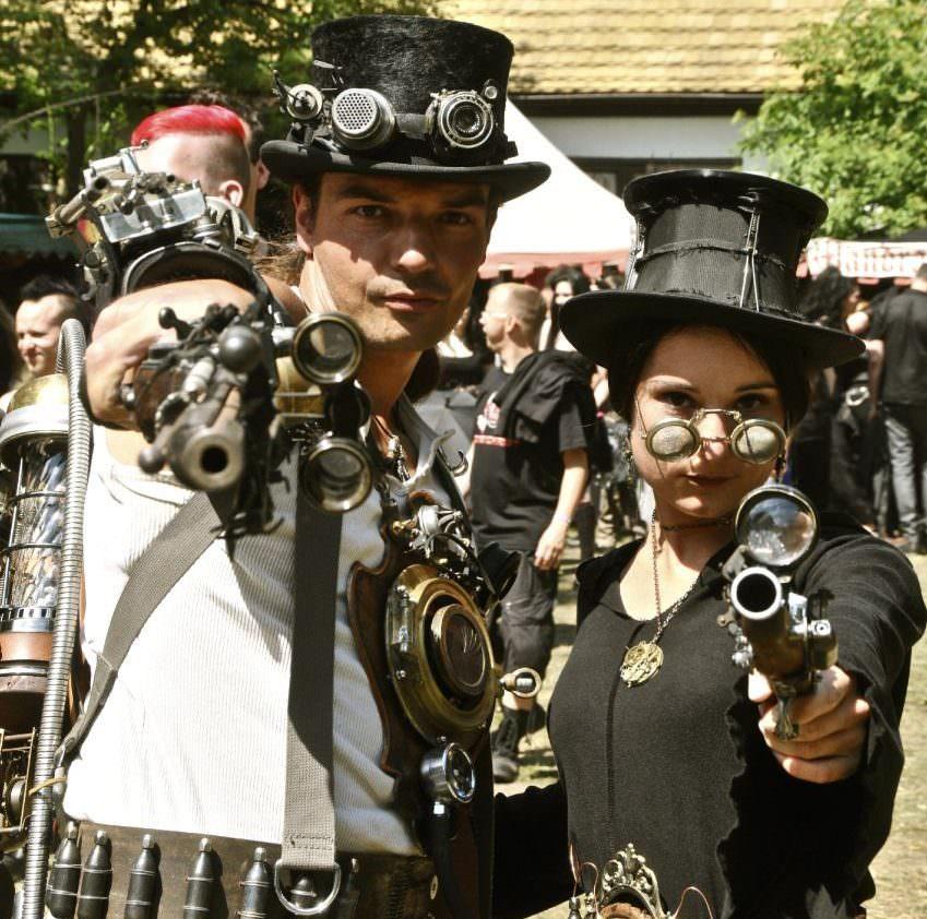 Steampunk Mit Volldampf In Die Eigenständigen Subkultur