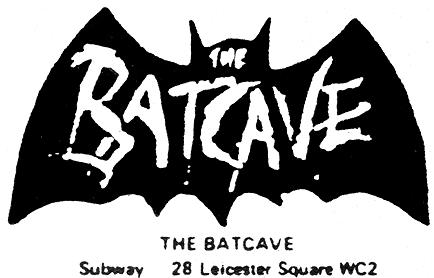 Logo des Batcave 1983