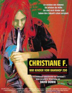 Christian F. - Werbeplakat des Films