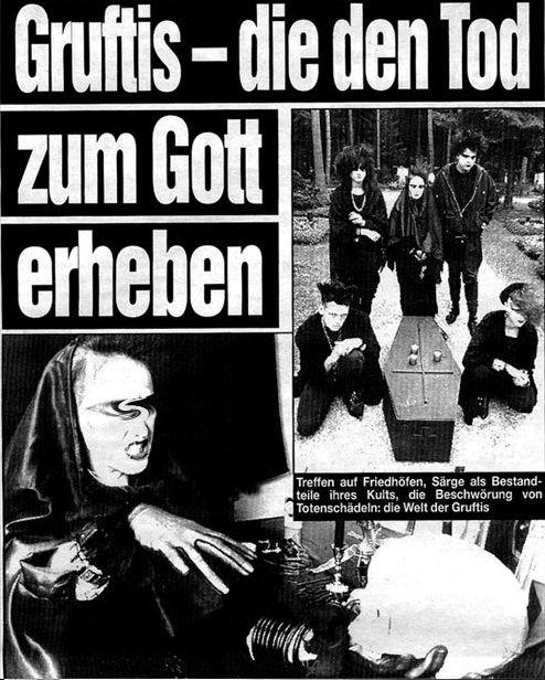 1991: Gruftis – die den Tod zum Gott erheben