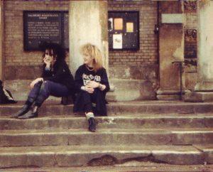 Melissa und Lisa in Salisbury