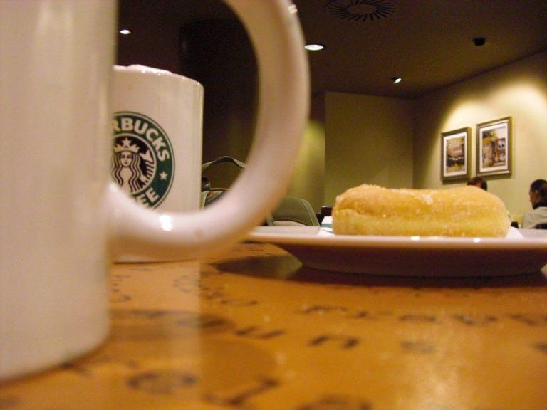 USA 2010: Bestellung bei Starbucks