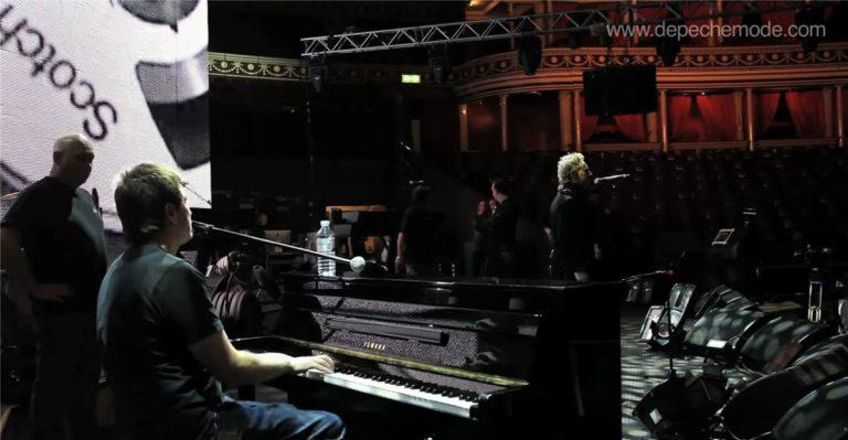 Somebody – Soundcheck in der Royal Albert Hall mit Alan Wilder