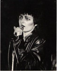 Siouxsie in Edinburgh 1980