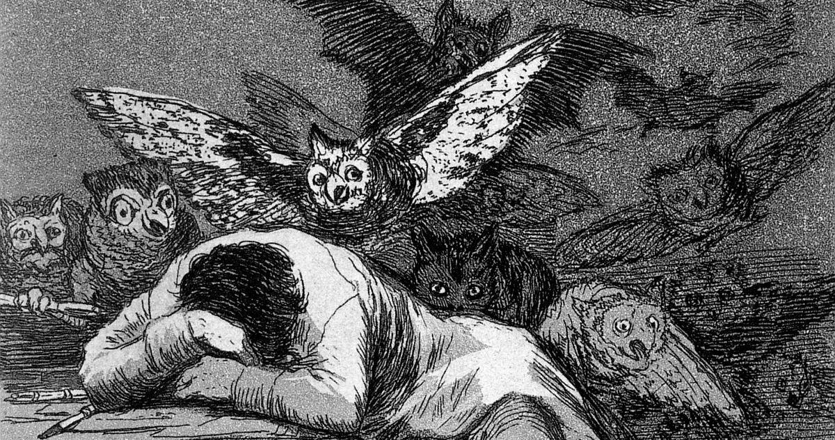 Francisco de Goya - Ungeheuer Vernunft