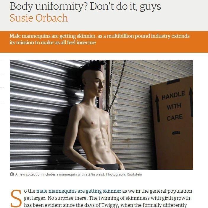 Der eigene Körper als Uniform