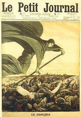 Le Petit Journal - Le Cholera