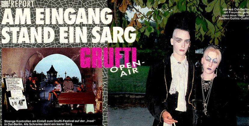 Am Eingang stand ein Sarg - Grufti Open-Air 1992