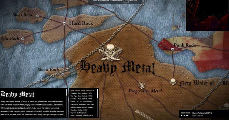 Map of Metal – Zwischen Garage Rock und Deathcore