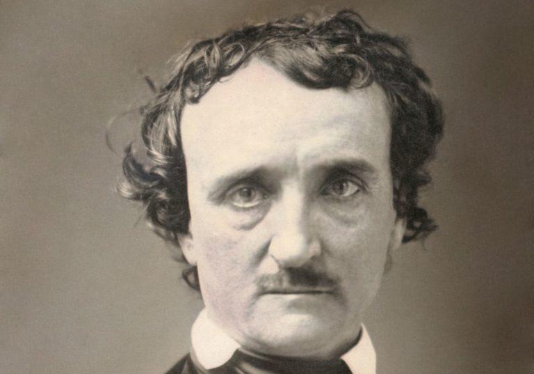 Edgar Allan Poe lebt, spricht und schreibt wieder