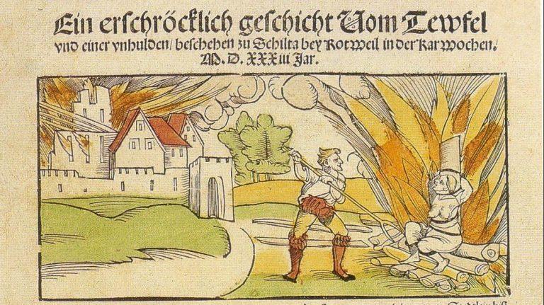 4. April 1775 – Deutschlands letzte Hexe wird zum Tode verurteilt
