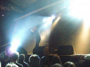DAF im Pulp Duisburg während ihrer Live Performance