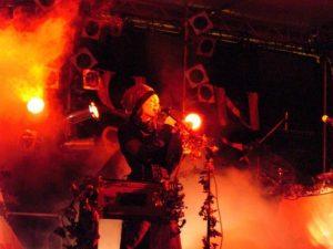 Die Gruppe Faun auf der Hexennacht Schloss Dyck 2008