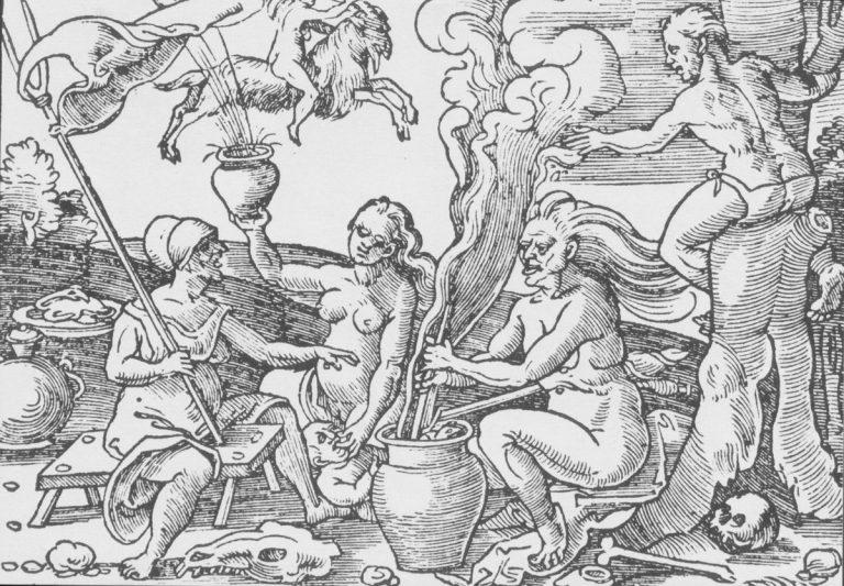 Die Flugsalben der Hexen