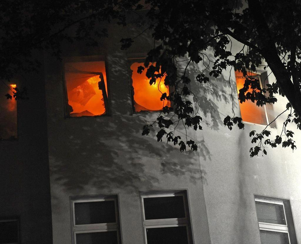 Brand im Zwischenfall