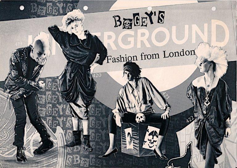 Schwarzer Modeguide der 80er – Zwischen Bogey's Katalog und der Realität
