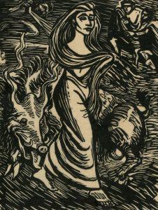Walpurgisnacht von Ernst Barlach