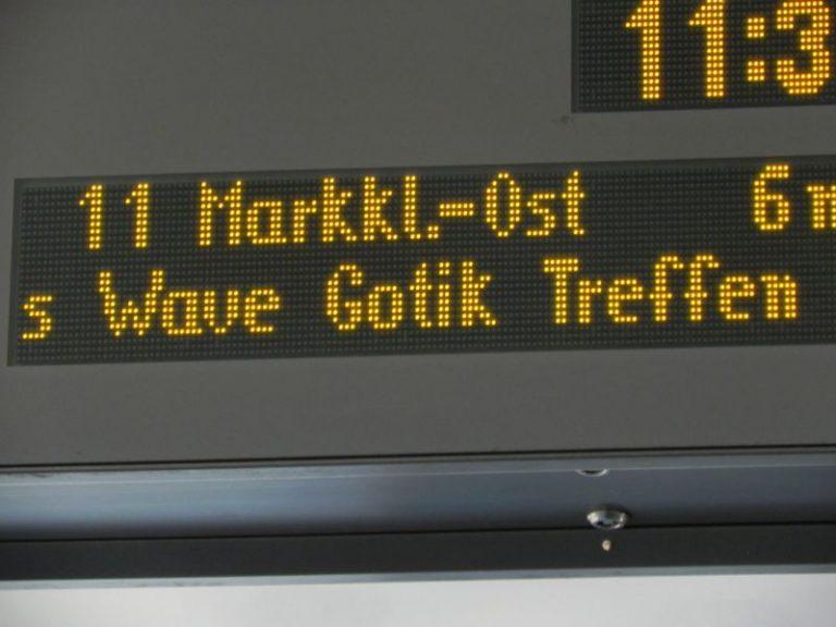 Pressespiegel zum 21. Wave-Gotik-Treffen in Leipzig