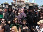 Goth Day in Disneyland