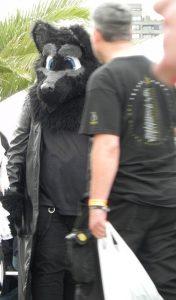 Amphi 2012 - Besucher im Hundekostüm