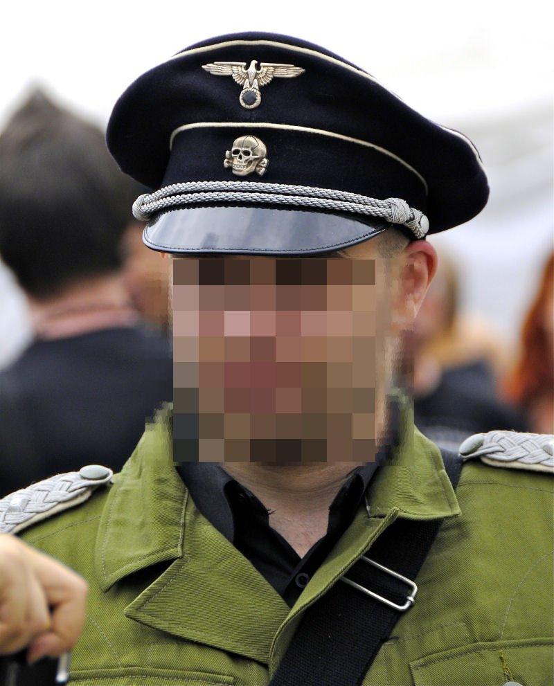 Originalgetreue Nazi-Mütze