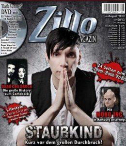 Zillo - Titelbild Ausgabe Juli 2012