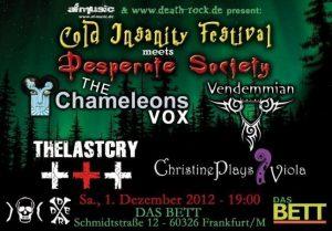 Cold Insanity Festival - Dezember 2012
