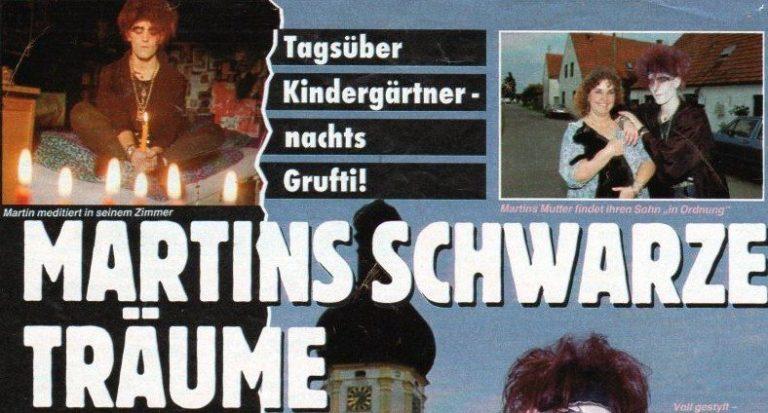 Bravo-Report 1992: Martins schwarze Träume