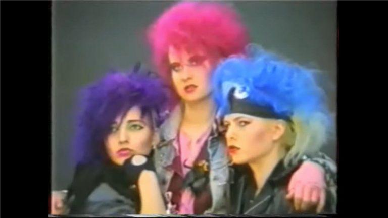 80er Style & Darkwave: Das kurze Gastspiel der Trash Groove Girls