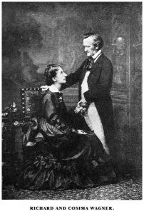Richard und Cosima Wagner
