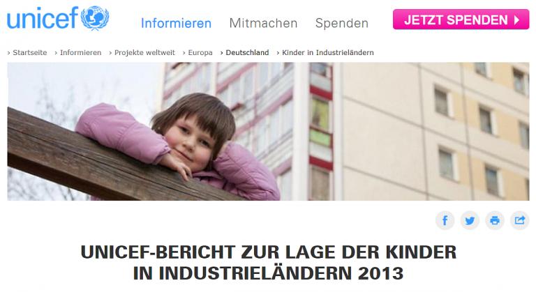 UNICEF-Studie: Emotionaler Schrottplatz Deutschland