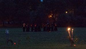 WGT 2013 - Blaue Stunde am Donnerstag - Grablichtprozession