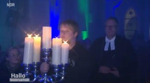 Gothic-Gottesdienst: Ein kirchliches Paradoxon