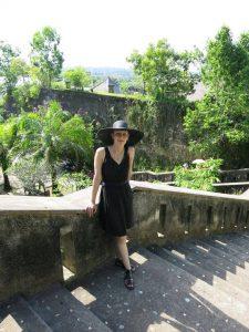 Janina auf Bali