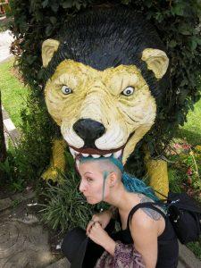 Janina und das wilde Tier