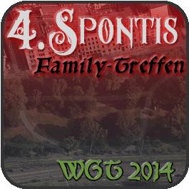 Spontis Family Treffen 2014 auf dem 23. WGT in Leipzig