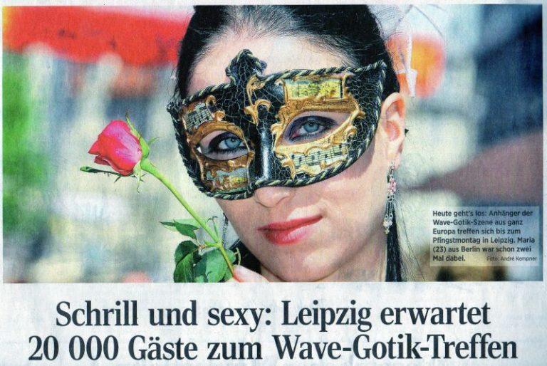 Pressespiegel zum 23. Wave-Gotik-Treffen in Leipzig