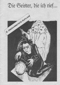 Broschüre der Geister Bremen, die 1998 die Szene dazu zwingt, Stellung zu beziehen.