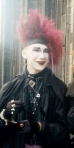 Bjoern Herrmann 1990 beim Domplattentreffen