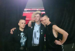 Manuel, Daniel und Marcel aus der Gruppe der Young & Cold Veranstalter