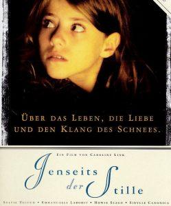 Jenseits der Stille - DVD Cover Ausschnitt