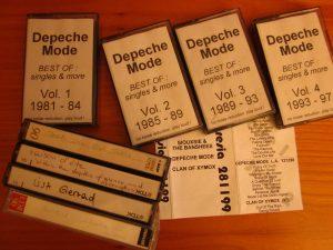 Satoria - Kassetten von Depeche Mode