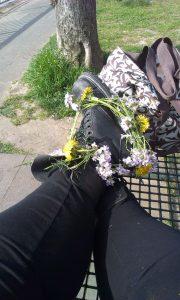 Anna - Blumenstiefel