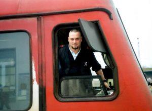 Ralf vom Rabenhorst in der Unternehmensbekleidung