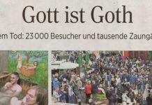 2016 - Gott ist Goth - Leipziger Volkszeitung vom 17.05.2016